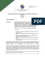 El cronograma completo de actividades de la embajada de Uruguay en Buenos Aires