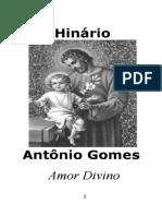 Companheiros - Antônio Gomes - O Amor divino
