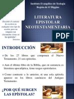 CLASE - Literatura epistolar