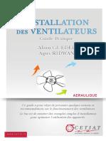 Guide Aeraulique Ventilateurs