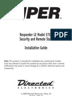 Viper 5701 Install Manual