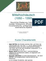 MITTELHOCHDEUTSCH