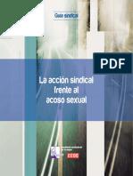 CCOO - La Acción Sindical Frente Al Acoso Sexual