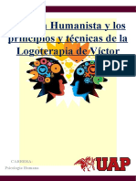 Técnicas Psicoterapeutas II - Terapia Humanista