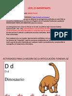 ACTIVIDADES MEJORA FONEMA D
