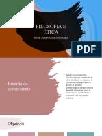 FILOSOFIA E ÉTICA
