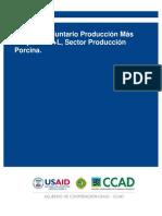 Acuerdo Voluntario Produccion Mas Limpia AVP+L  Sector Produccion Porcina.