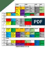 Horario Grupo 2 Abril 2021