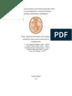 Derecho Procesal Del Trabajo - Grupo 1