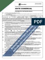 Banco Do Brasil 3 Simulado Escriturario Agente Comercial Folha de Respostas