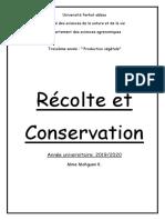 L3 PV 19-20 Module Récolte Et Conservation (1)