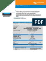Datasheet BlueSolar PWM Light Charge Controllers 12 24V FR