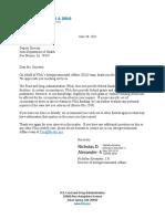 FDA Iowa Doh 2021 June 30