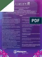 Convocatoria Quimera 2021 Metepec