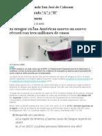 2 -Matemática. El Dengue
