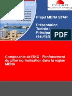 Récap sur le Projet MENA STAR( 2015-2018)