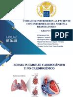 EDEMA PULMONAR CARDIOGENICO - GRUPO N°3