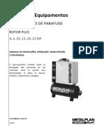 MANUAL DE INSTRUÇÕES ROTOR PLUS 4_25HP REV.7