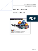 Manual de instalacin de Visual Basic