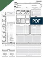 D&D 5.0 - Ficha de Personagem (Expandida & Calculável)