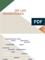 TEORIA DE LAS INVERCIONES