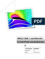 ME2135E Fluid Mechanics Lab -2 Flow Past an Aerofoil