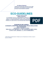 Eco-Guidelines as written in 2002