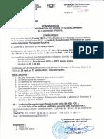 Communique Concours Injs 2021