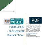 Enfoque del paciente con trauma facial