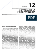 Historia de la Psicopatologia- Carmelo Vásquez