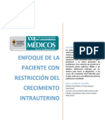 Enfoque de la paciente con RCIU