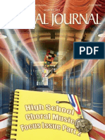 Choral Journal - March 2011