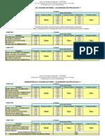 Calendrio de Provas 2011-1 ADM Cohama
