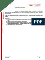 Actividad 3 - Identifica el principio de efectuación utilizado