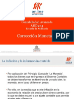 CORRECCION MONETARIA