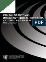 Digital Natives and Immigrant Conductors