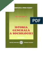Istoria generala a sociologiei