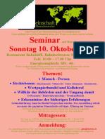 Seminar Malters - 10.10.2021