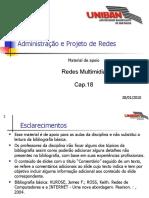 Cap.18 - Redes Multimidia 20100128