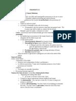 PROPERTY II Outlines