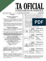 Gaceta Oficial N°42.186