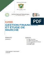 Expose de Gestion Financiere