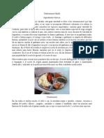 Gastronomía Hindú