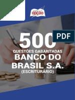 500 QUESTÕES GABARITADAS