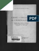 Crime e Exclusão Da Criminalidade- Mello