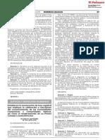 D.S 019-2019-JUS Exoneración de tasa registral que implique la calificación e inscripción del reconocimiento de las Comunidades Campesinas y Comunidades Nativas