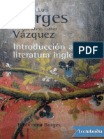 Introduccion a La Literatura Inglesa - Jorge Luis Borges