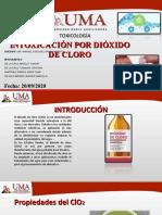 INTOXICACION POR DIOXIDO DE CLORO