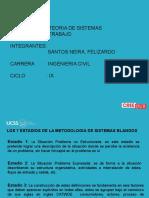 LOS ESTADIOS DE LA METODOLOGIA DE CHECKLAND