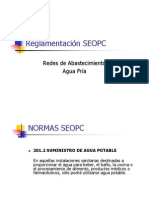 Reglamentaciones MOPC para aguas